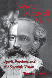 Newton, Maxwell, Marx cover