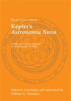 Selections from Kepler's Astronomia Nova cover
